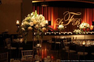Pin Spots SEK Wedding Lighting