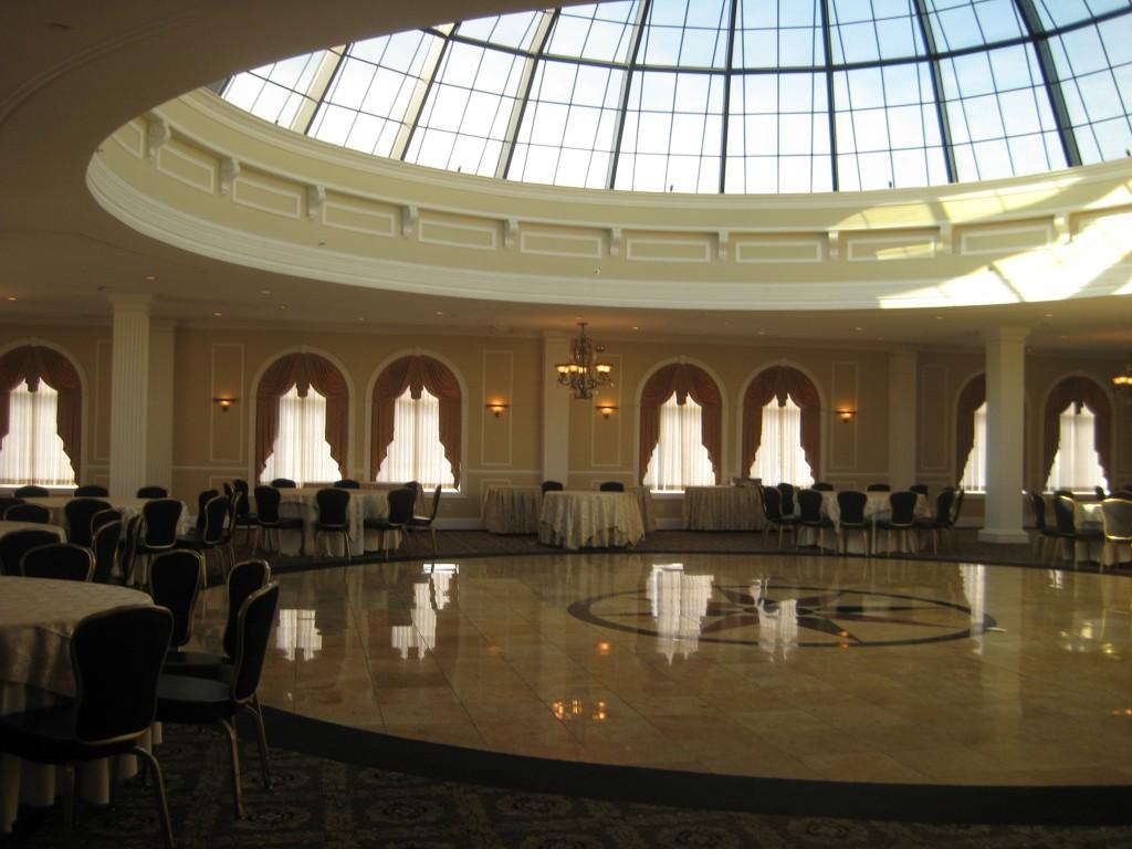 The Merion Skylight Ballroom Sek Wedding Lighting